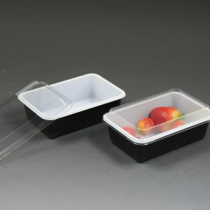 Salad Tray With Lid