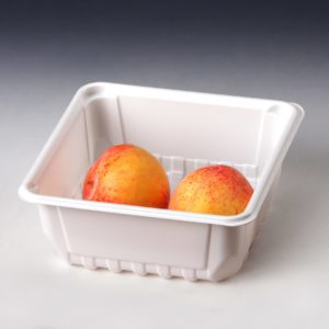 White Fruit Tray